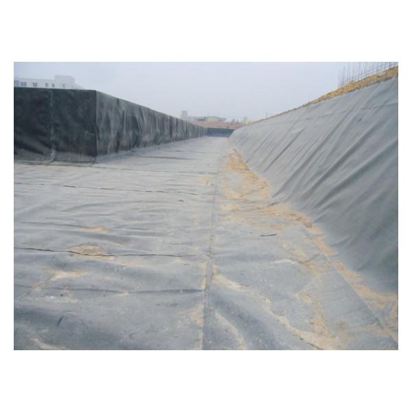 沼气黑膜 鱼塘防渗膜 泥鳅养殖专用土工膜 藕池防渗膜