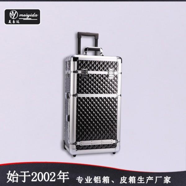 美容美发箱大容量商务旅行箱多功能拉杆化妆箱