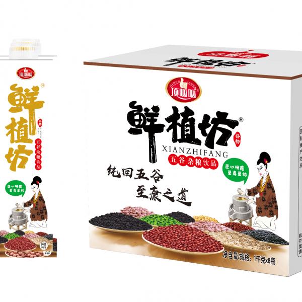 五谷杂粮谷物饮料餐饮装1L8瓶浙江招商加盟