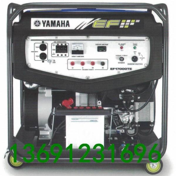 雅马哈发电机EF17000TE