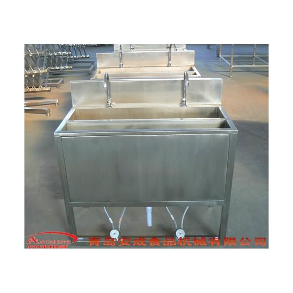 屠宰线配套设备-双工位洗手槽