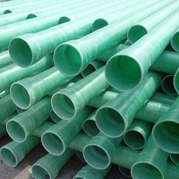 玻璃钢管厂家甘肃张掖长期大量供应DN150*5玻璃钢夹砂管