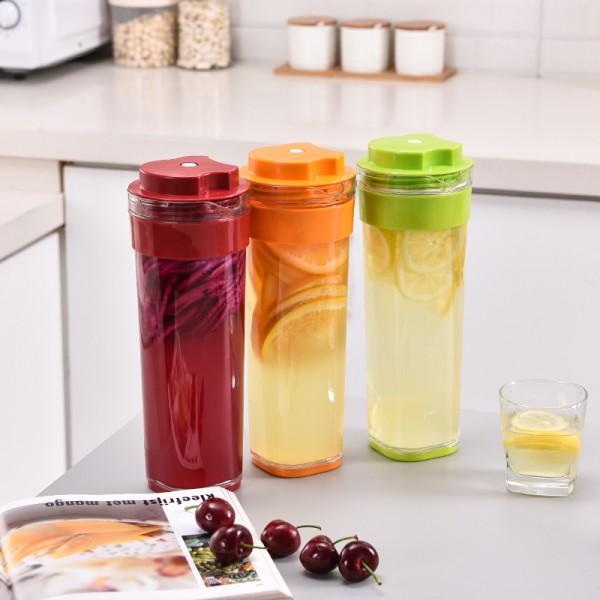 纤巧壶1升塑料壶自制果醋酵素杯大容量 冷水壶迷你纤巧健康壶