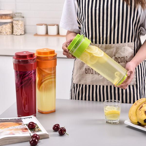 纤巧壶1升 大容量塑料自制果醋酵素杯壶经典套装专柜正品