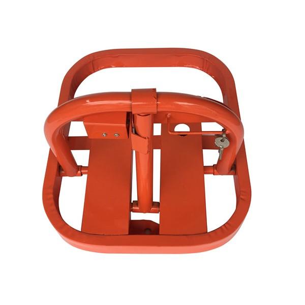 厂家直销粤盾交通O型手动车位锁防压车位锁占位停车设备汽车地锁