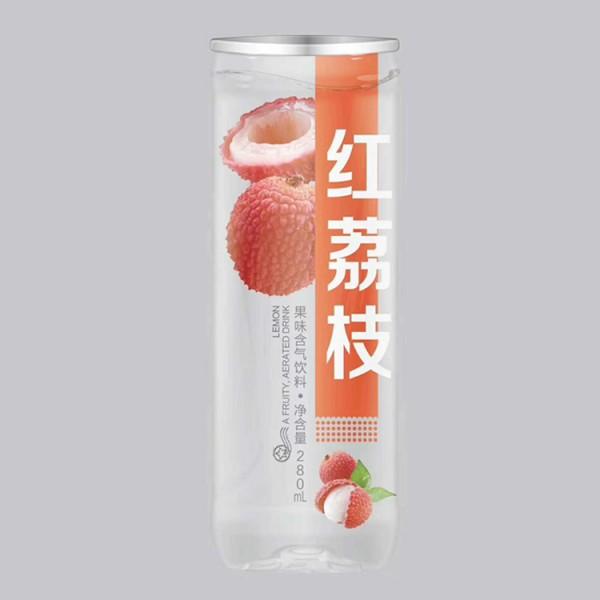 含气红荔枝果味饮料288ml24瓶装饮品招经销商
