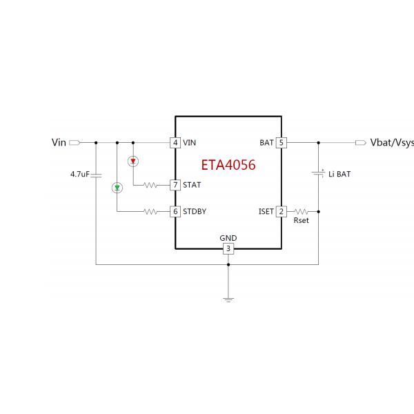 ETA4056耐高压16V超低功耗的基准和运放电路