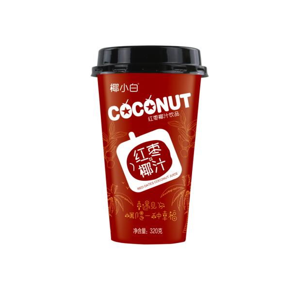 商超杯装红枣椰汁320ml20杯装贵州连锁加盟