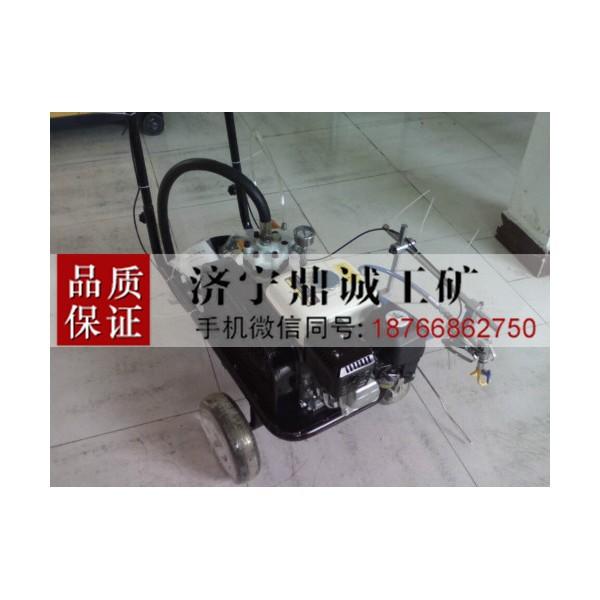 四川绵阳手推式汽油冷喷划线机 冷漆常温漆道路停车场标线机
