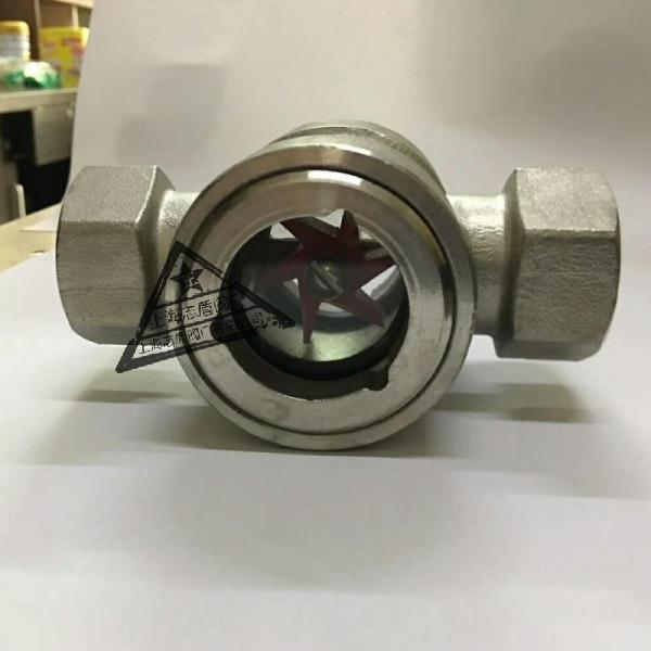 不锈钢叶轮观流器,304/316直通视镜,设备窥视装置视镜