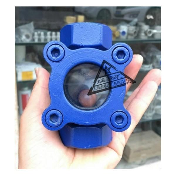 铸钢丝口监流器,浮球式观视镜,内螺纹视水器