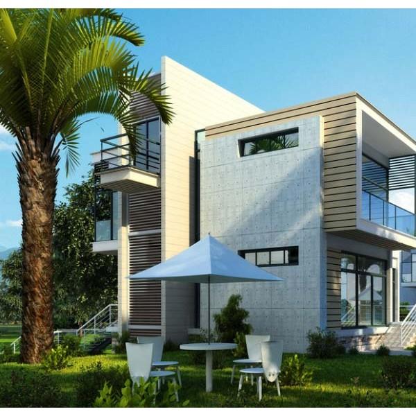 如何做既优惠又安全的绿色建筑钢结构别墅