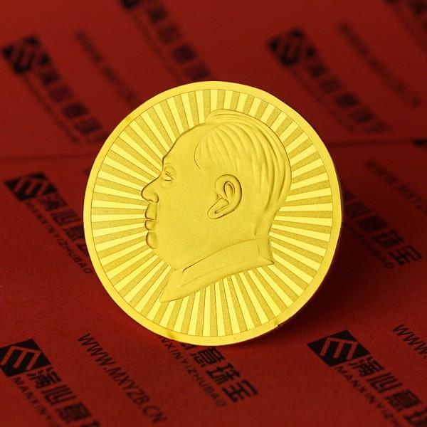 纯银银币定制 镀金镀银纪念币定做 纯金银纪念币