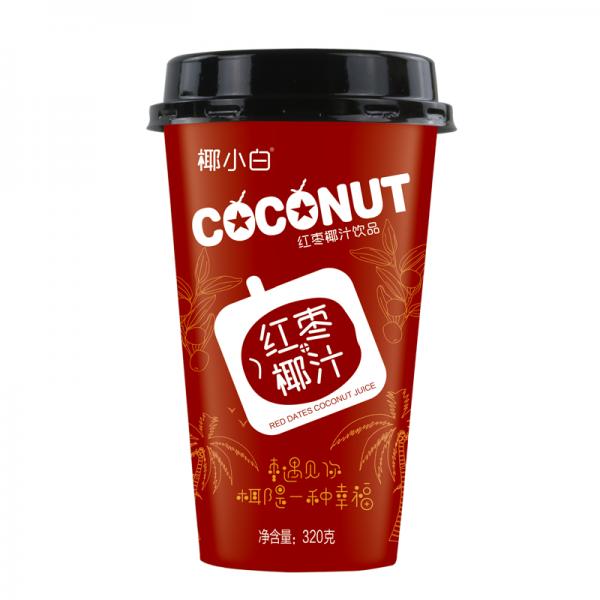 厂家杯装红枣椰汁320ml20杯装便利店招经销商