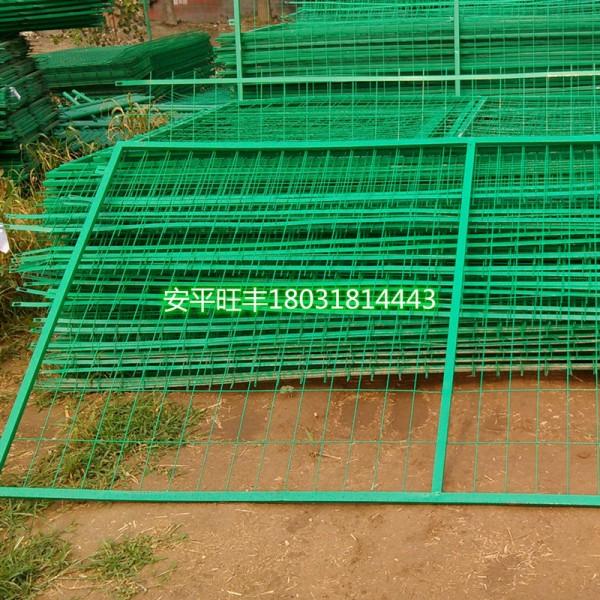 低价促销大量处理库存浸塑公路护栏网