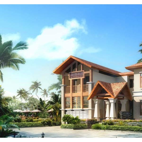 未来的房子都是它!广东东莞钢结构别墅生产厂家告诉你!