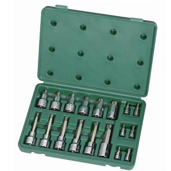 西安世达工具6.3*12.5mm系列花型旋具套筒组套