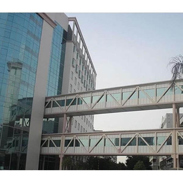 钢结构新秀!广东东莞钢结构连廊供应