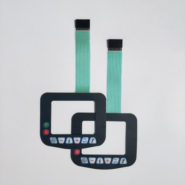定做手臂扭力测试仪薄膜面板  各种导电检测仪面板贴膜