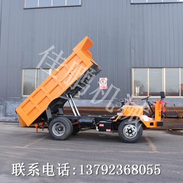 佳鹏机械供应JP-6型轮式地下运矿车 大马力矿洞出渣运输车