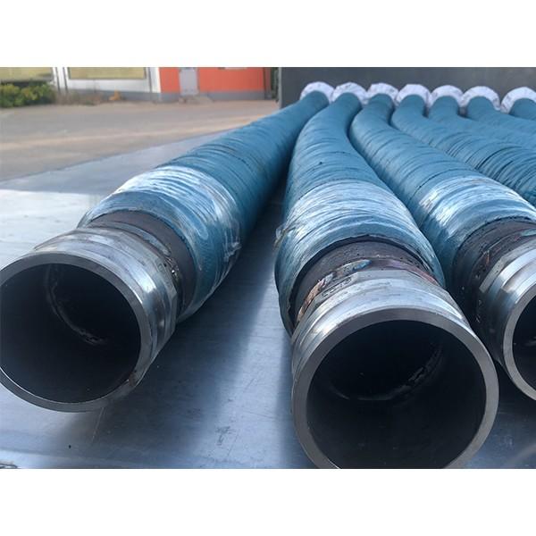 铝厂用耐磨喷砂胶管输送渣壳砂石料耐高压