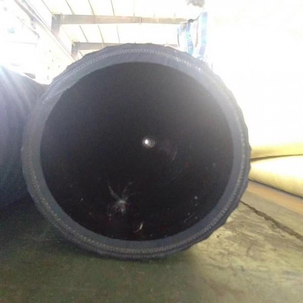 水泵配套用抽水排污大口径钢丝橡胶管