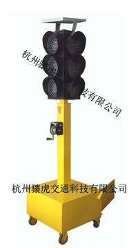 榆林市太阳能移动红绿灯 led交通信号灯价格