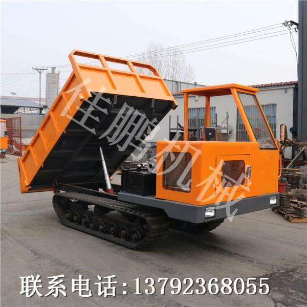 橡胶履带式自卸车农机 履带拖拉机履带运输车
