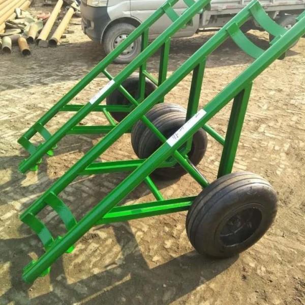 电力施工电线杆运杆车/拉杆车 拖杆车 单双杆电杆运输车
