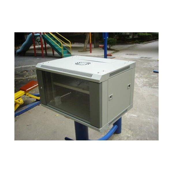 广州惠迅网络标准机柜 冷轧钢 光纤熔接 送货上门