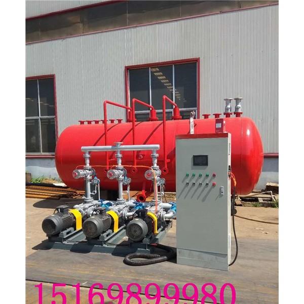 蒸汽凝结水回收装置的效果