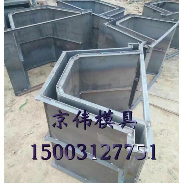 沧州高速公路两侧水沟排水专用U型流水槽模具产品展示