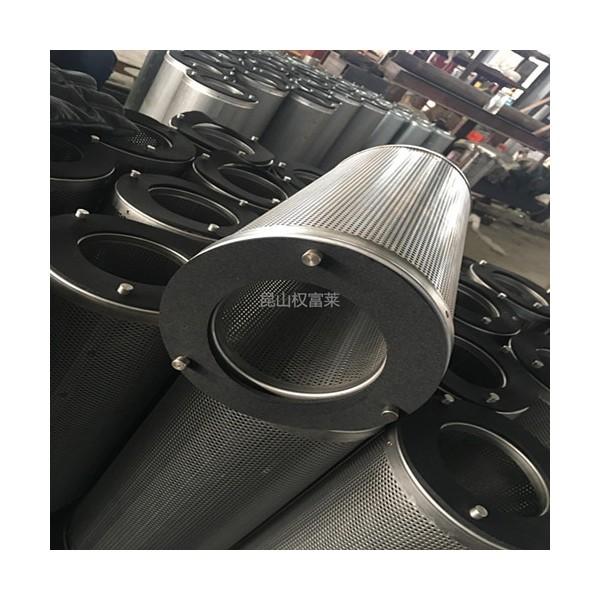 活性炭过滤器 去除化学气味圆筒式不锈钢活性炭过滤器炭桶