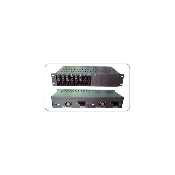 HS-14 14槽机架式光纤收发器