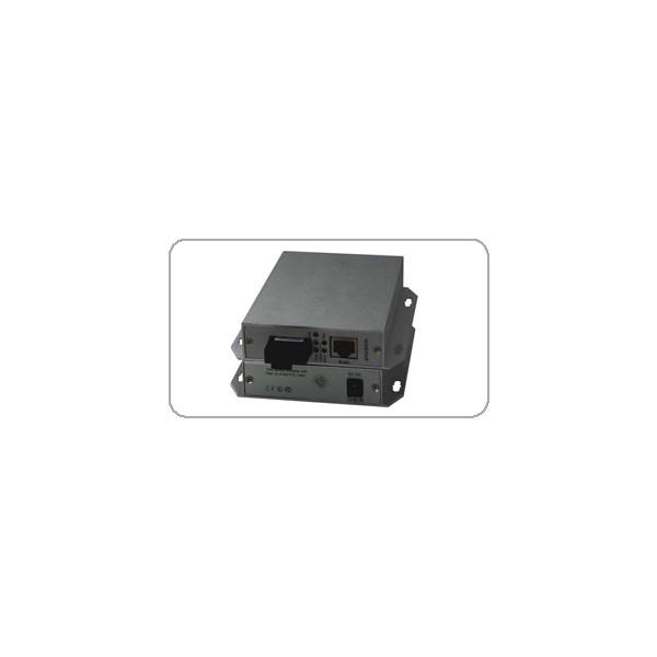 广州汉信单口百兆PoE光纤收发器