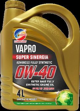 vapro威保0W-40全合成酯油汽车机油