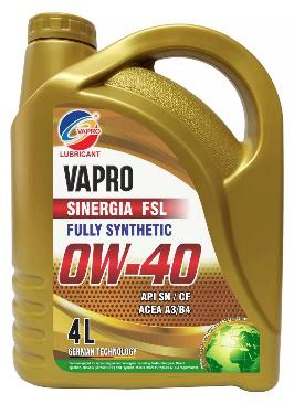 vapro威保0W-40全合成油VAPRO汽车机