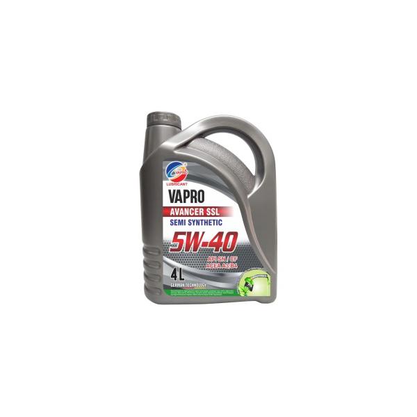 vapro威保5W-40半合成油VAPRO汽车机油润滑油