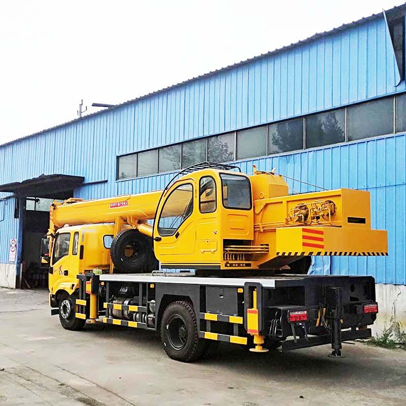 东风16吨汽车吊 常年供应工程建筑机械设备 汽车吊车全国上牌