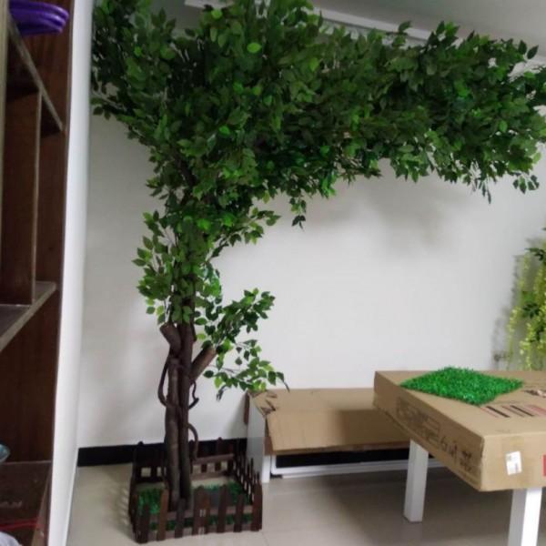 北京仿真树厂家大型仿无休止树价格