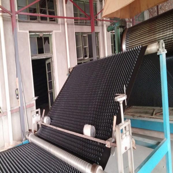 HDPE蓄排水板 楼顶蔬菜花草种植蓄排水板 黑色片状排水板
