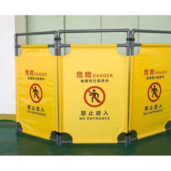佛山大成交通设施厂家 布艺折叠安全护栏 护栏生产厂家