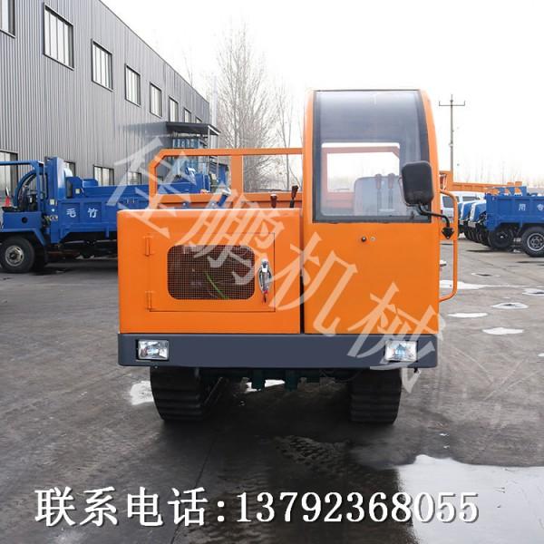 4吨钢制履带运输车 田园果木运输车