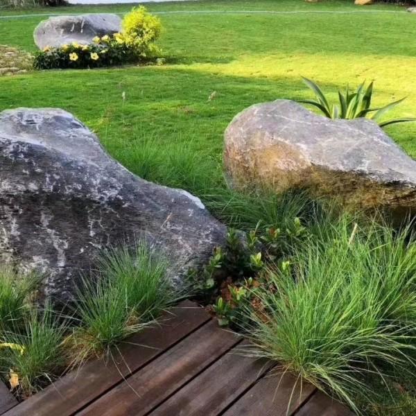 贵州黑山石造景 贵州黑山石价格 贵州日式黑山石产地