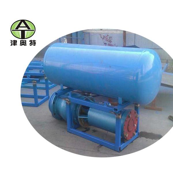 QJF井用漂浮式潜水泵_潜水电机_水泵_输水管