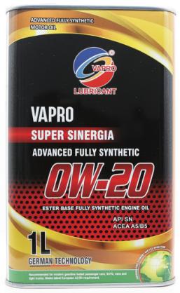 vapro威保全新金属罐系列0W-20全合