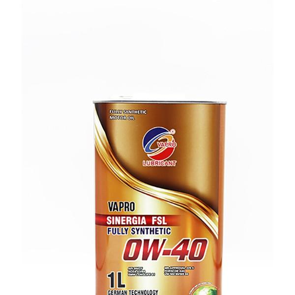 vapro威保全新金属罐0W-40润滑油汽车机油全合成油