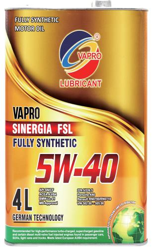 vapro威保全新金属系列5W-40全合成
