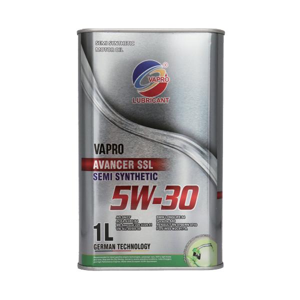 vapro威保金属罐系列5W-30半合成油vapro汽车机油