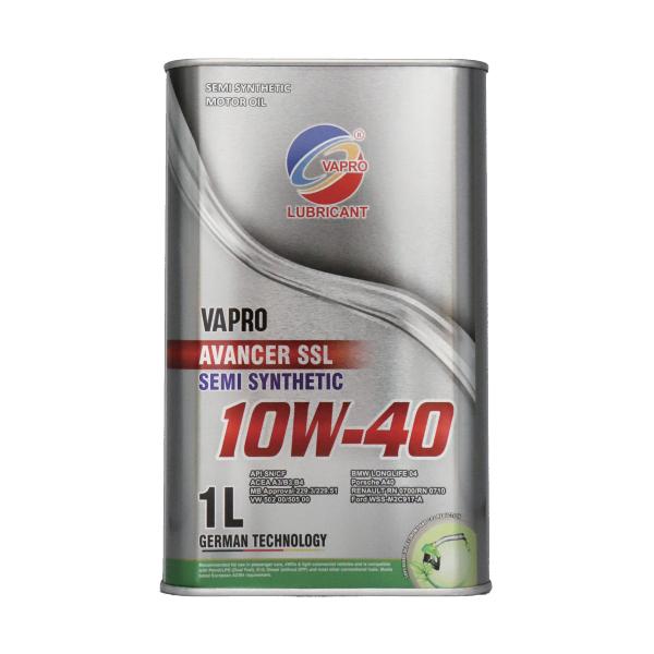 vapro威保金属罐系列10W-40半合成油汽车机油